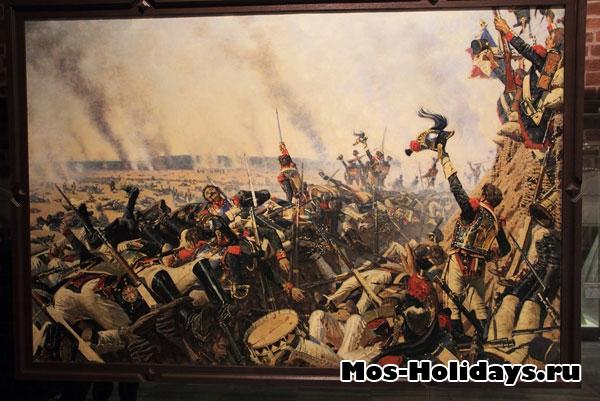 Картины в музее Отечественной войны 1812 года