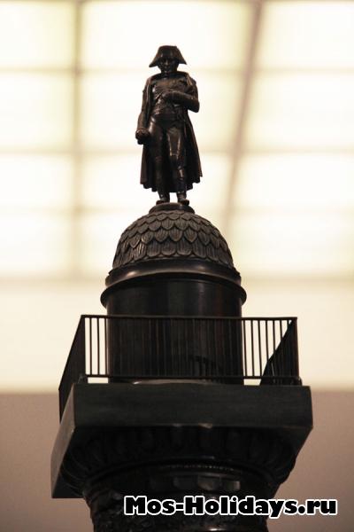 Вандомская колонна в музее Отечественной войны 1812 года