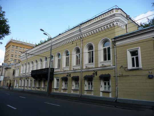 Здание музея шахмат