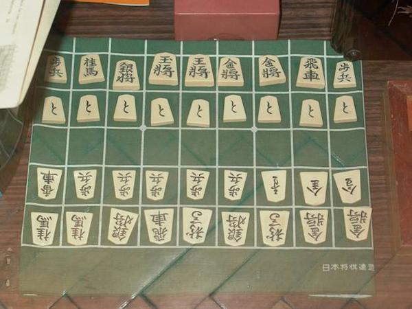 Японские шахматы в музее шахмат Москвы