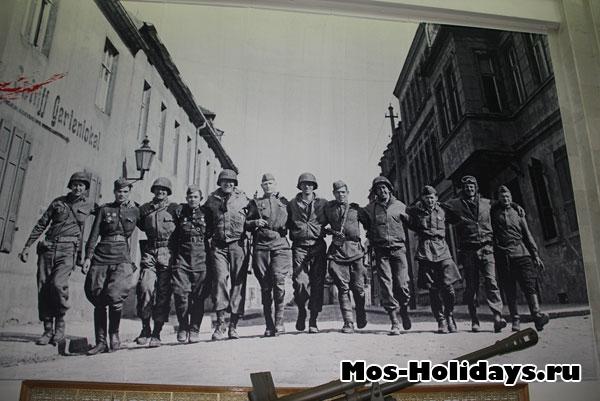 Фотография солдат, Центральный музей Великой Отечественной Войны 1941-45 гг.