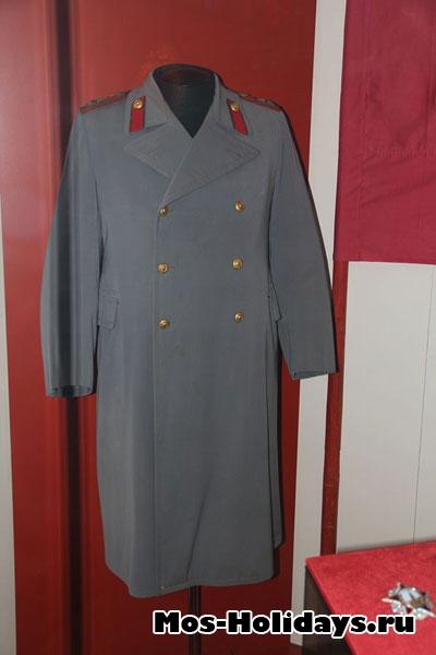 Летнее пальто верховного главнокомандующего маршала Советского Союза И.В. Сталина