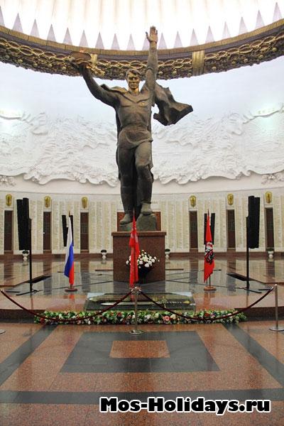 Зал Славы в музее ВОВ