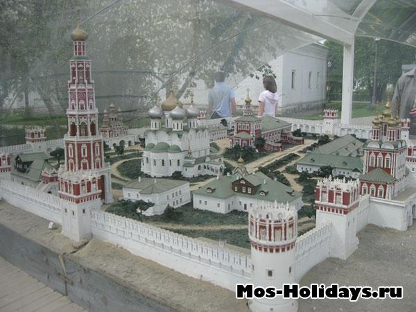 Схема/макет Новодевичьего монастыря