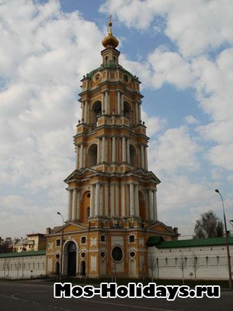Колокольня Новоспасского монастыря