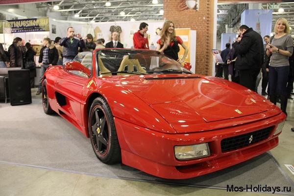 Ferrari 348 Spider на выставке Олдтаймер Галерея