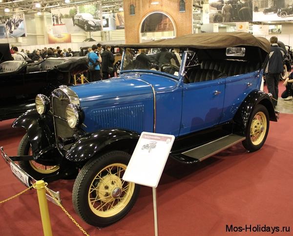 Форд А на выставке Олдтаймер Галерея