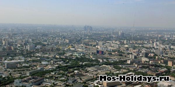 Фото с экскурсии на Останкинскую башню