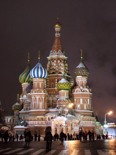 Покровский собор - Собор Василия Блаженного