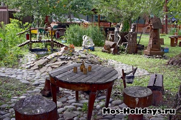 Кафе в Перовском парке