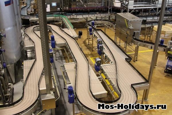 Экскурсия на пивоваренный завод