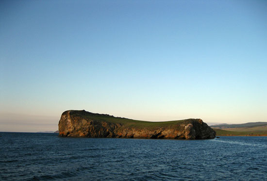 Остров Харанцы Малого моря озера Байкал