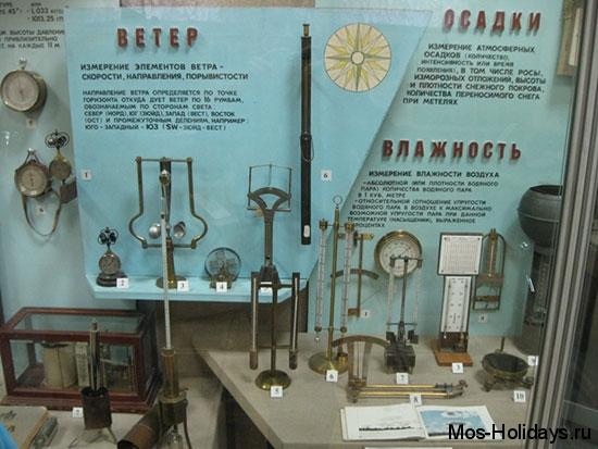 Метеорологические приборы в Политехническом музее Москвы