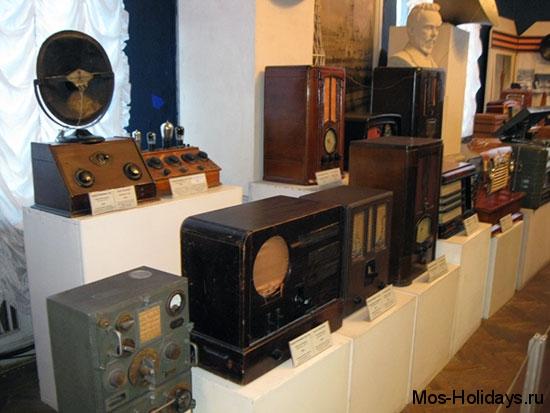 Зал радио в Политехническом музее