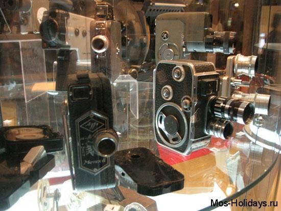 Первые плёночные видеокамеры в Политехническом музее Москвы