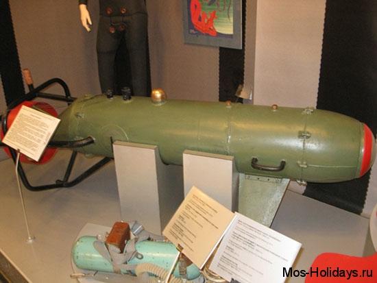 Оборудование для подводной съёмки в Политехническом музее Москвы