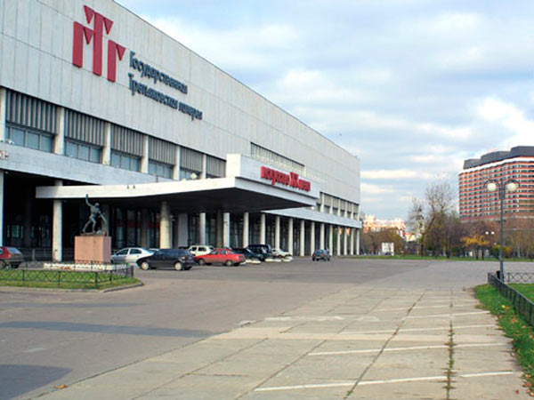 Фасад здания третьяковской галереи