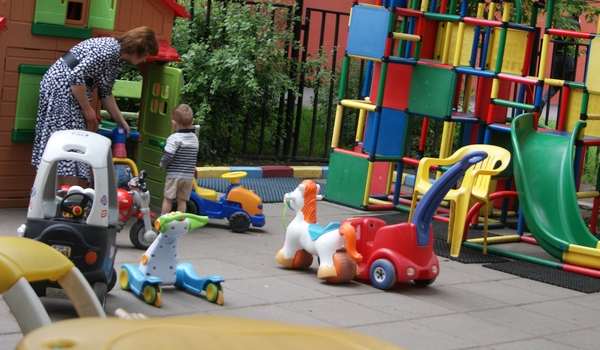 Детская площадка в Сокольниках