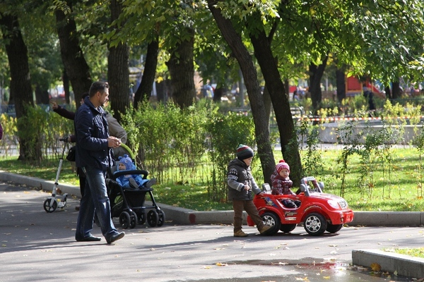 В Таганском парке можно брать электромобили напрокат