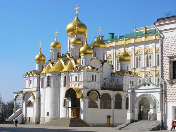 Благовещенский собор на территории Кремля