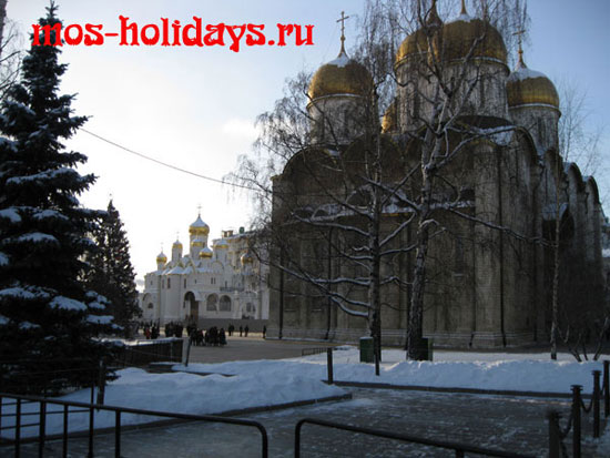 Успенский собор на территории Кремля