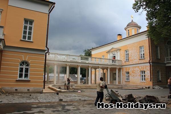 Строительство театральной школы в Люблино