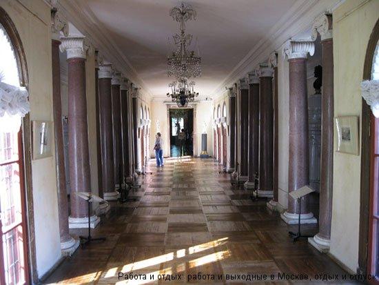 Галерея к Итальянскому павильону в Усадьбе Останкино