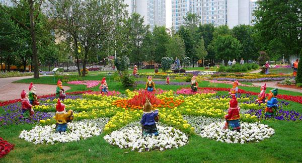 В Воронцовском парке Москвы