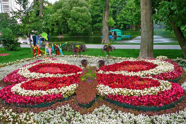 В Воронцовском парке в Москве