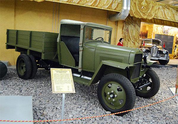 """Полуторка на выставке """"Моторы войны"""""""