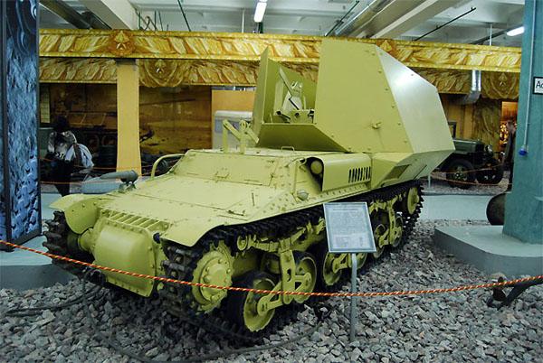 """Немецкая самоходная артиллерийская установка на выставке """"Моторы войны"""" в Парке Победы"""