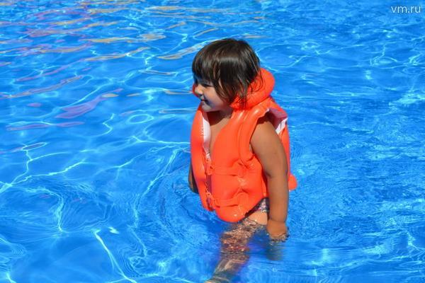 Детский аквапарк в Измайловском парке