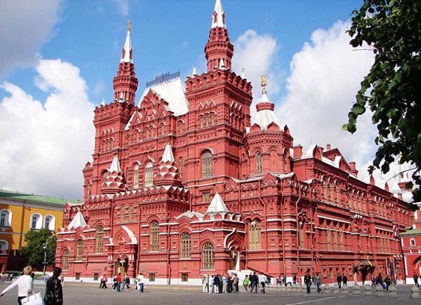 Красная площадь Москвы