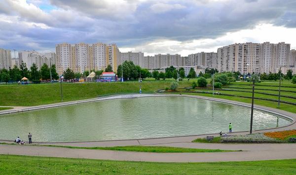 Дюссельдорфский парк в Марьино
