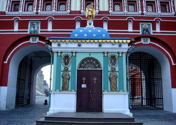 Воскресенские ворота на Красной площади