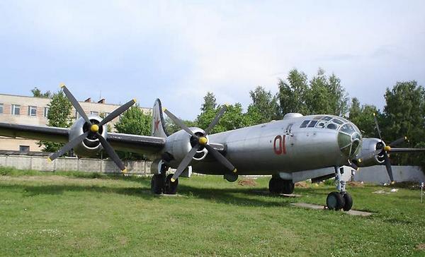 Самолет Ту-4 в Монино