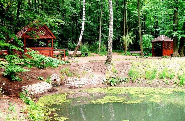 Площадка для жарки шашлыков в Битцевском парке