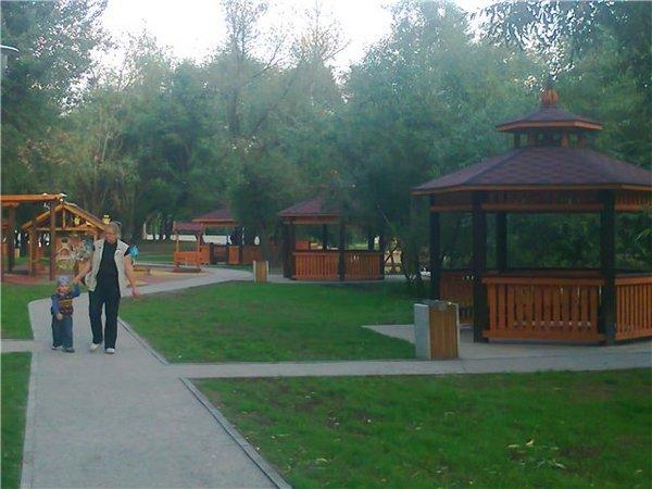 Площадка для жарки шашлыков в Кусково