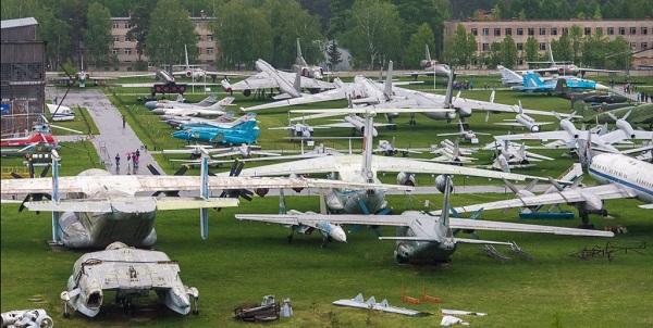 Центральный музей военно-воздушных сил РФ в Монино