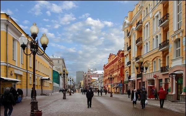 Старый Арбат - самая знаменитая улица Москвы - Москва 2020