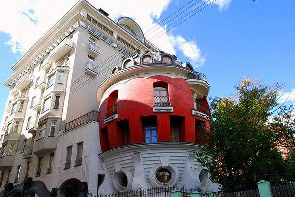 Экскурсия Необычные дома Москвы