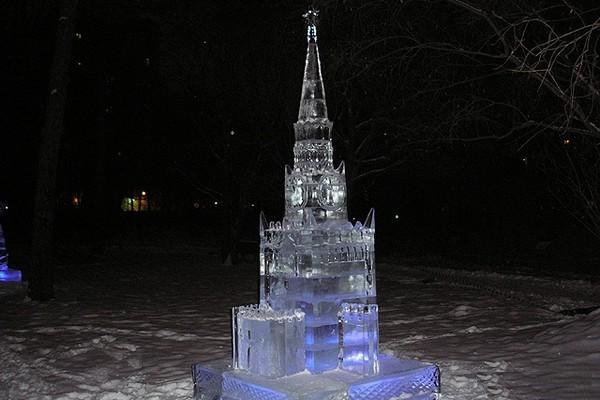 Выставка ледовых скульптур «Ледовая Москва. В кругу семьи» на Поклонной горе