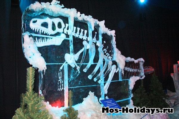 Выставка ледяных фигур в Сокольниках