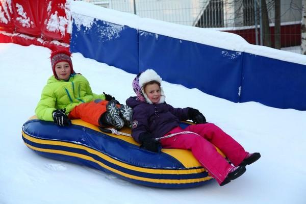 Зимняя трасса для тюбинга «The Gorka»