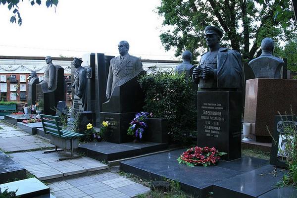 Московское Новодевичье кладбище