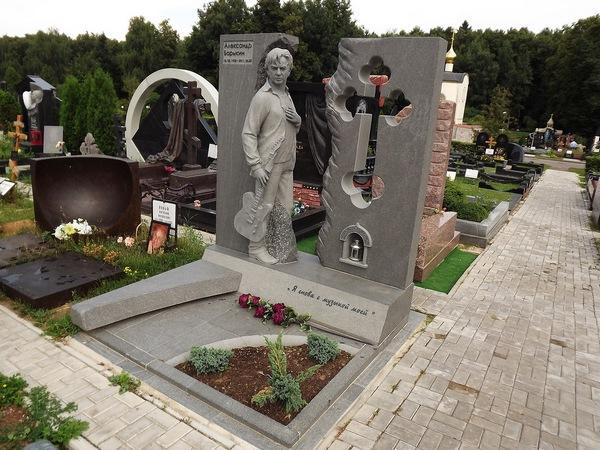 Троекуровское кладбище, могила Барыкина