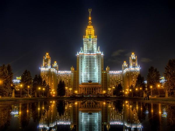 Сталинская высотка - здание МГУ