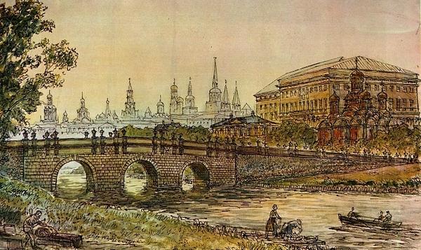 Кузнецкий мост в Москве