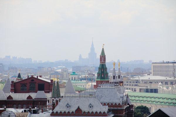 Смотровая площадка на крыше Центрального детского магазина на Лубянке