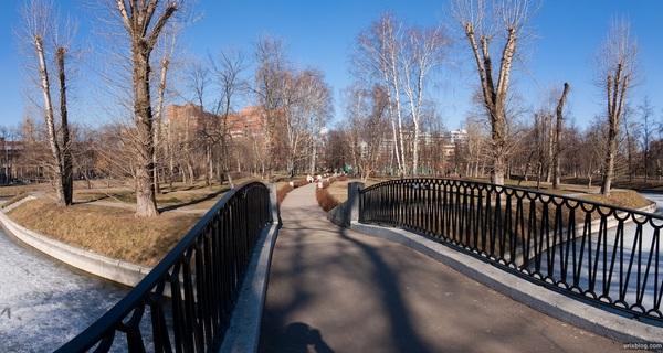 Парк-усадьба Трубецких в Хамовниках